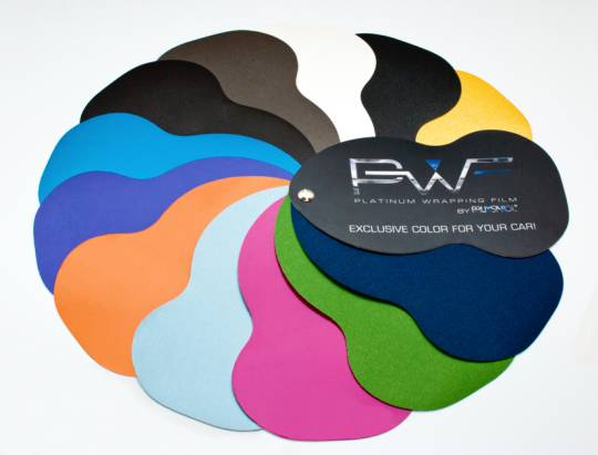 Paleta kolor�w PWF Platinum Wrapping Film